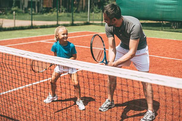 Tennisles jeugd